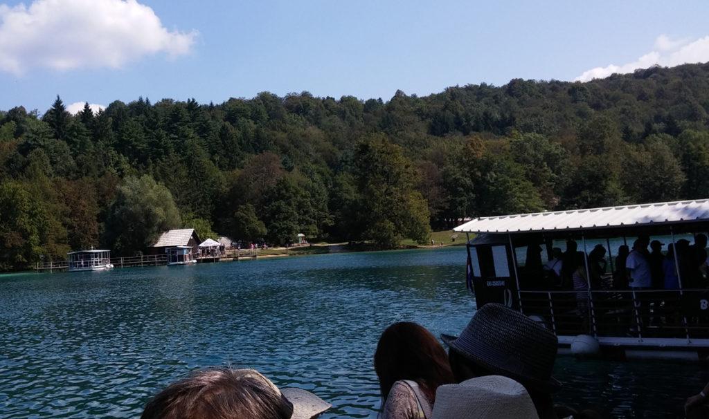 stanoviště loděk Plitvická jezera
