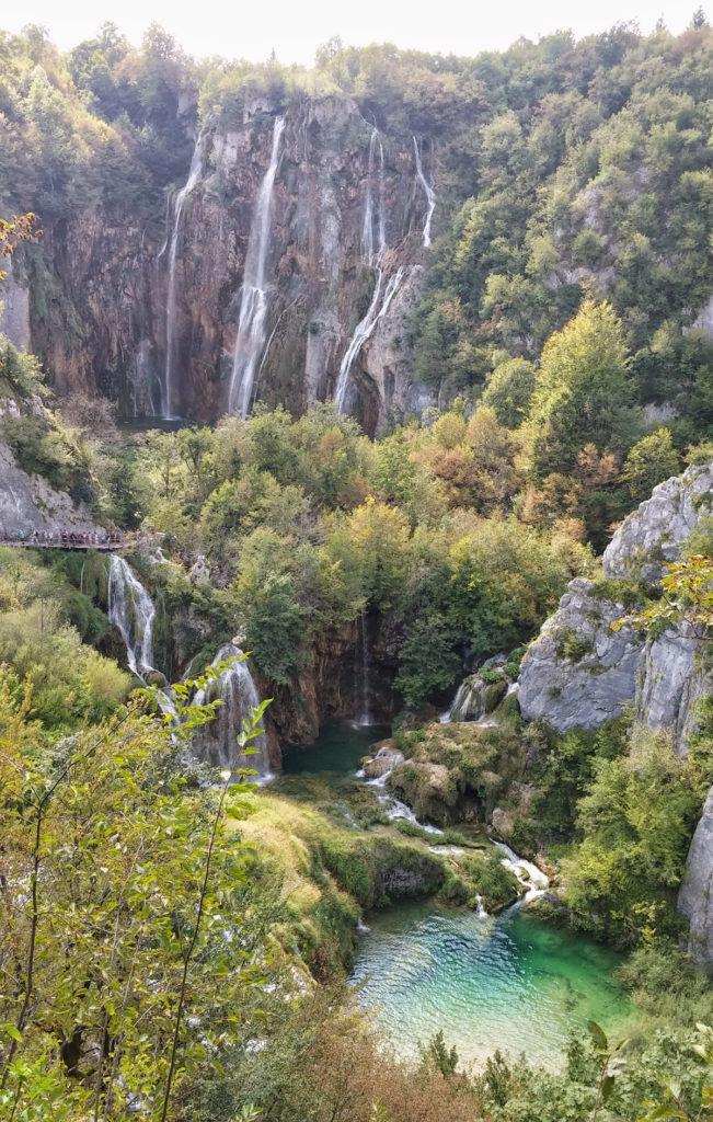 Velký vodopád Plitvice